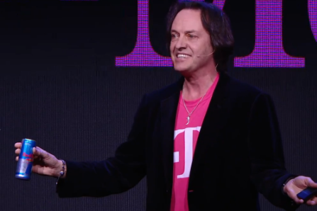 T-Mobile US CEO John Legere at CES