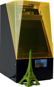 The Pegasus Touch SLA 3D printer. Photo courtesy of Full Spectrum Laser.