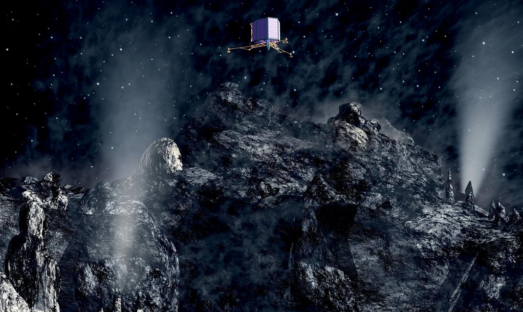 Philae comet lander