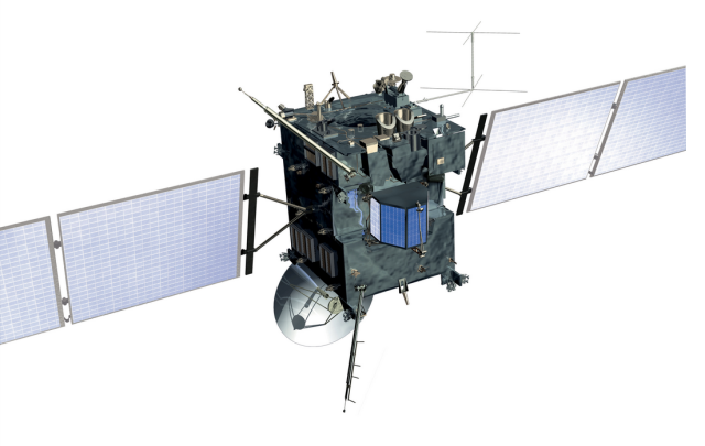 The Rosetta spacecraft.