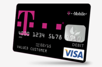 T-Mobile prepaid Visa card