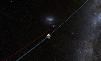 Rosetta's location, 1/22/2013.