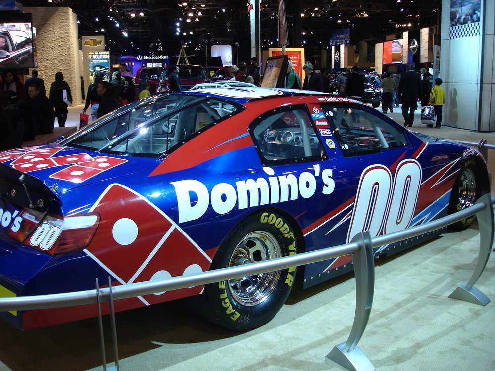 Domino's Pizza race car