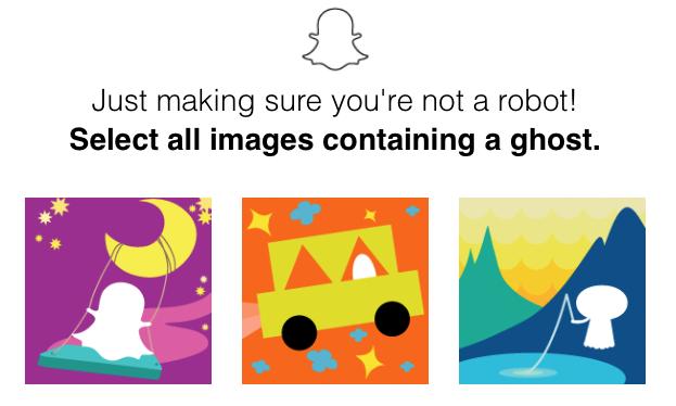 Snapchat verifcation
