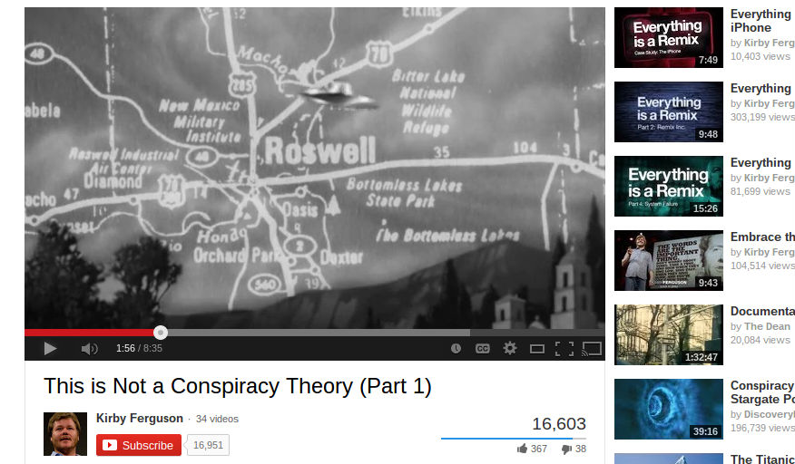 this is not a conspiracy theory fearture art