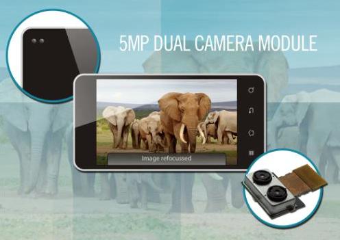 Toshiba dual sensor camera