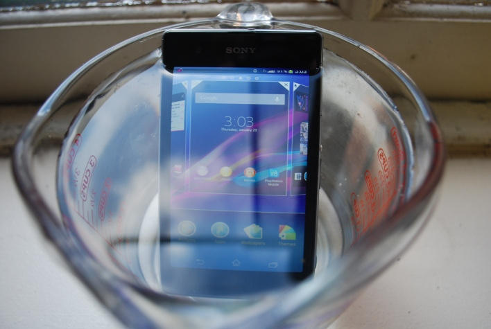 Xperia Z1s waterproof