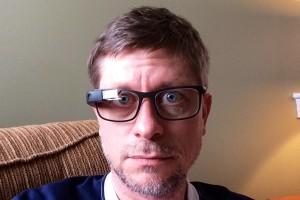 Google Glass Bold frames on Kevin