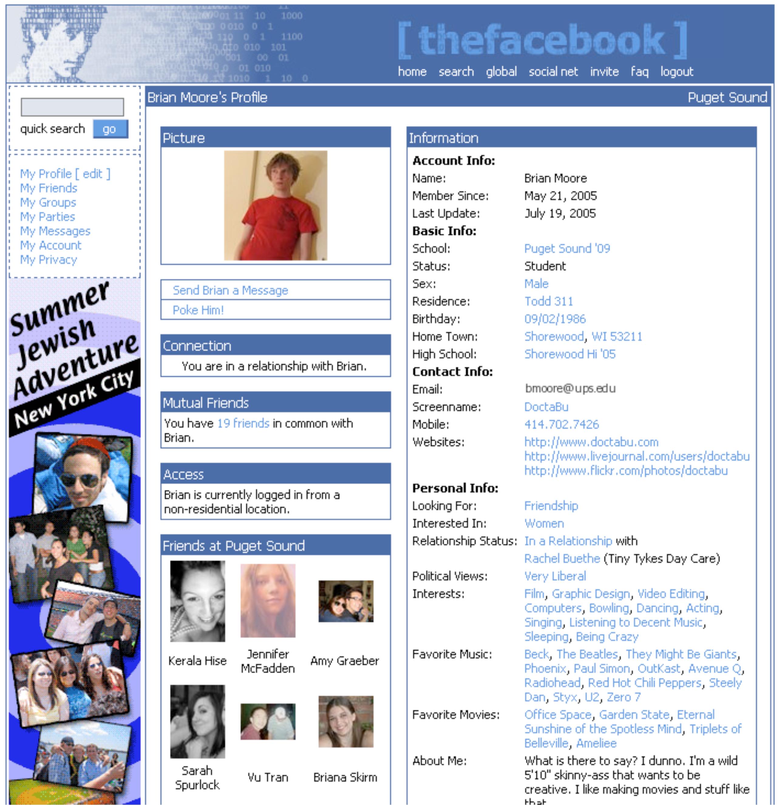2005 (original profile)