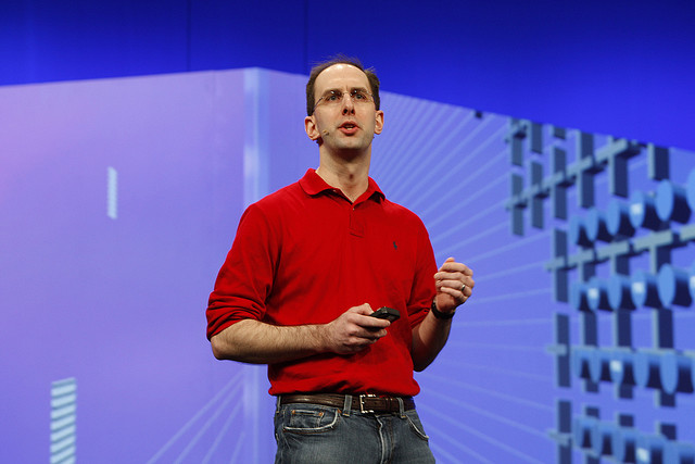 Microsoft corporate VP Scott Guthrie