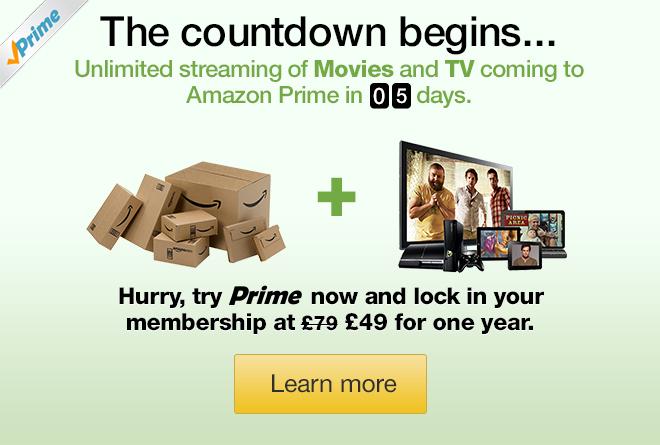 amazon prime instant video uk