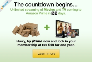 amazon prime instant video uk