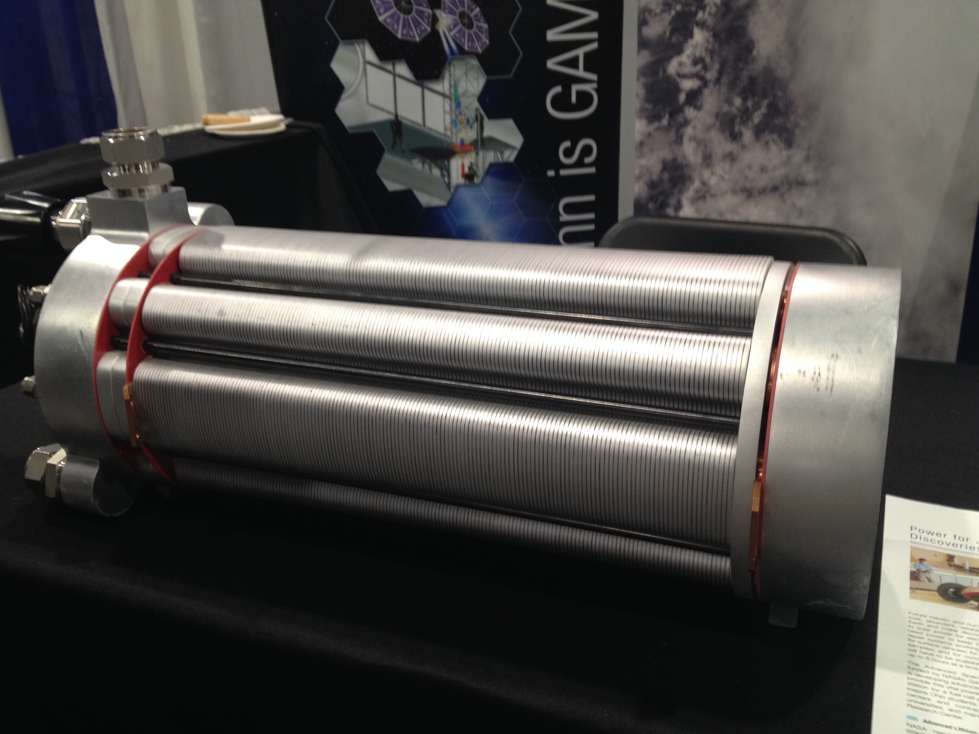NASA developed this fuel cell for space applications.
