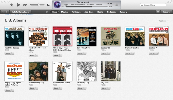 beatles us albums