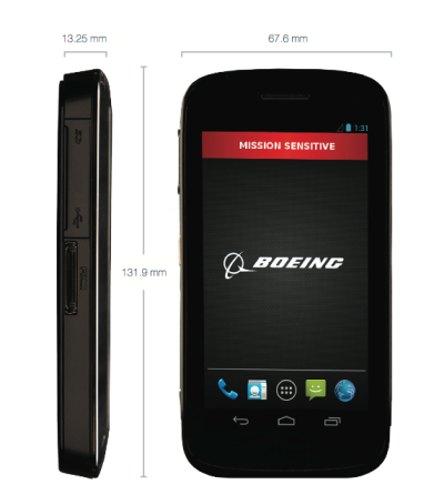 Boeing Black details