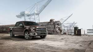 Same tough truck, new lighter body. Source: Ford