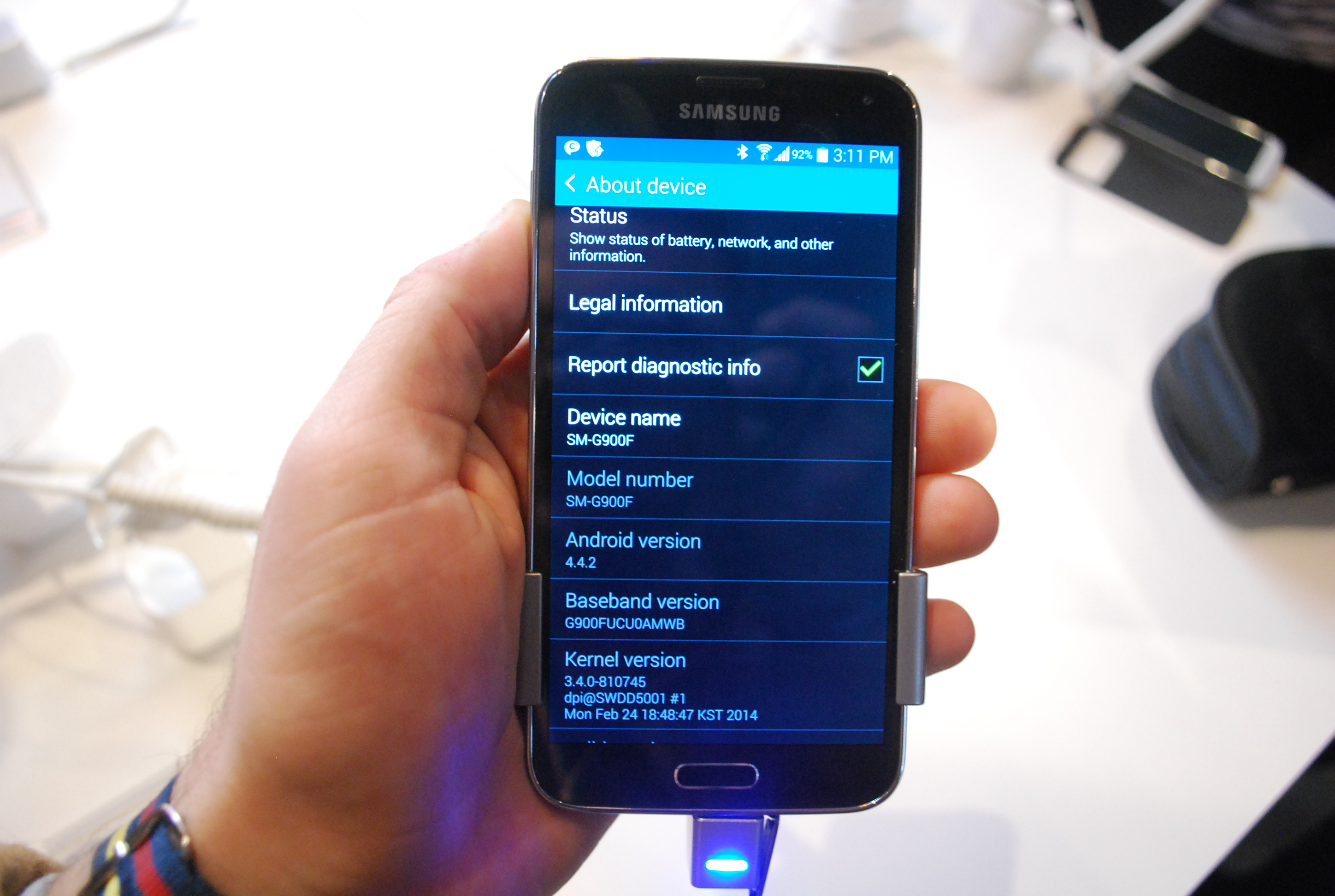 Galaxy S5 Android