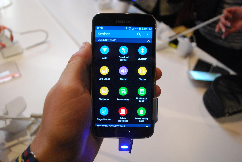Galaxy S5 settings