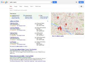 Screenshot from Google settlement proposal, showing auctionable positions
