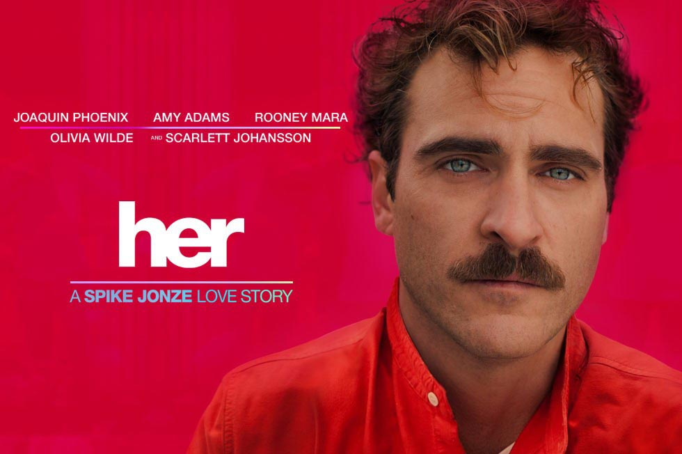 movie poster for Her