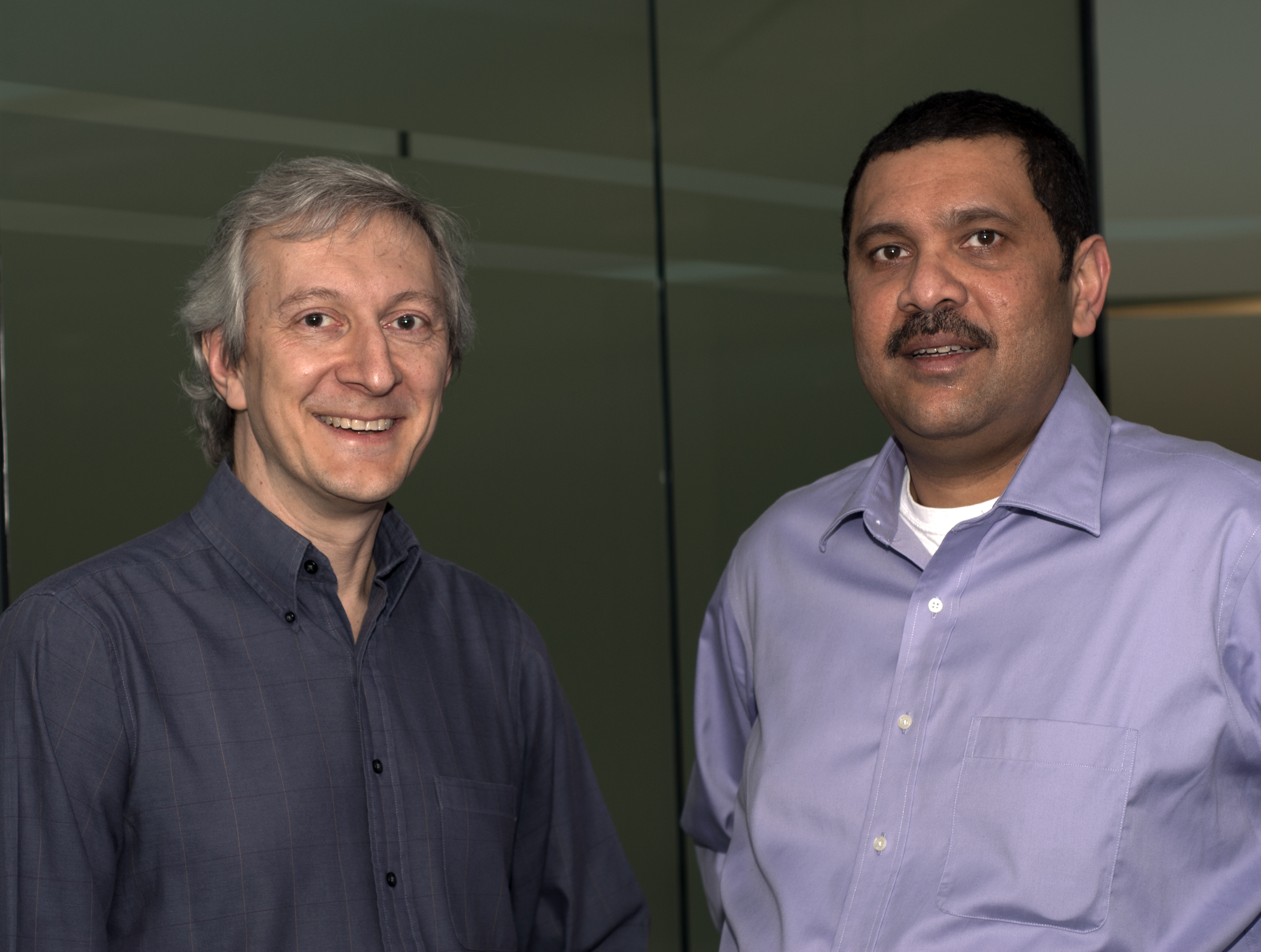 Ken Rugg, CEO,and Amrith Kumar, CTO of Tesora