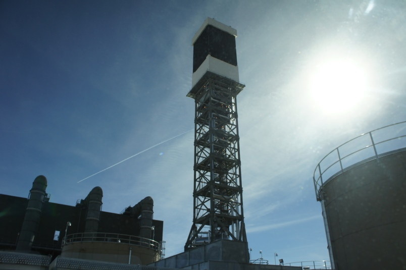 Ivanpah with the Unit 1 off