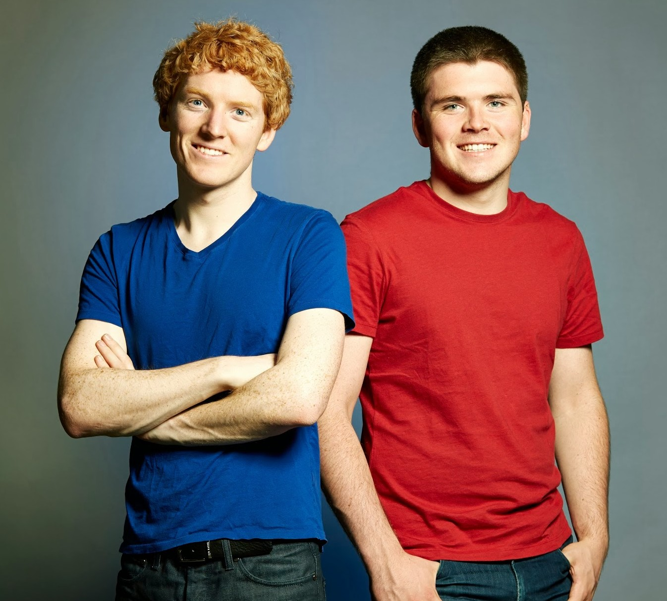 Stripe's young co-founders, Patrick and John Collison.