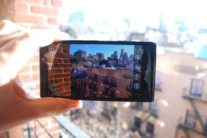 Lumia Icon camera