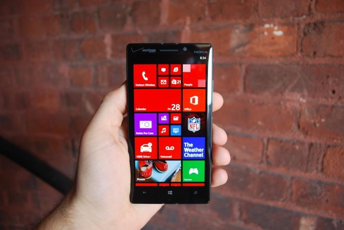 Lumia Icon home screen