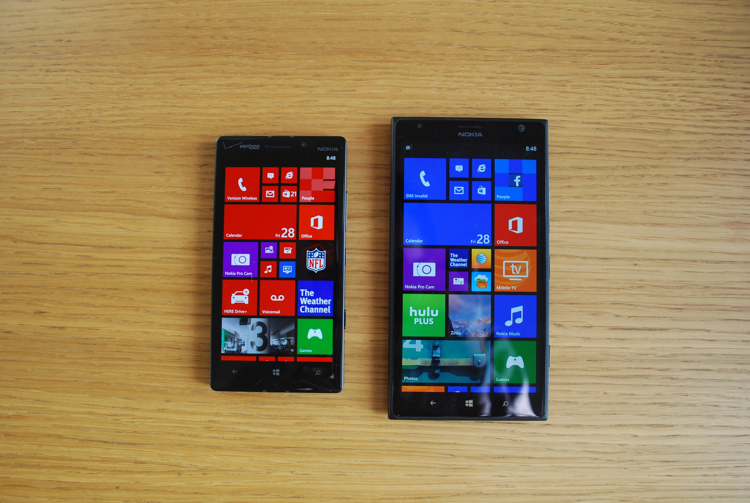 Lumia Icon vs Lumia 1520