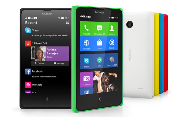 Nokia X group