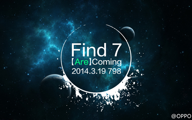 Oppo Find 7 teaser
