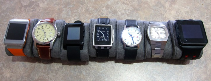 pebble steel and other watches
