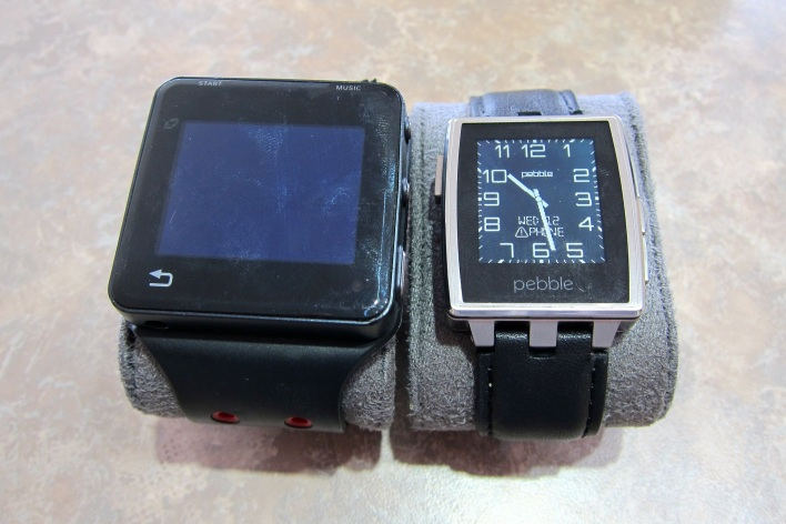 pebble steel and MotoACTV