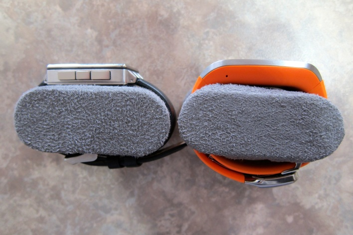 pebble steel and gear thickness