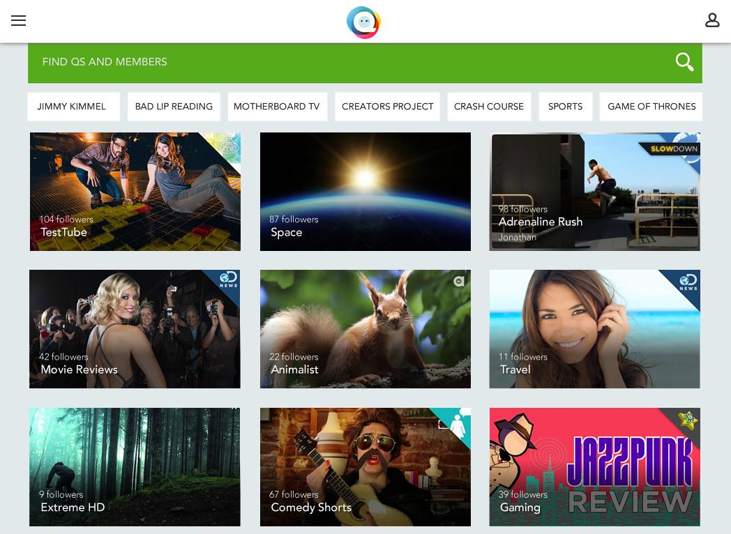 QPlay's iPad app.