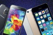 Galaxy s5 versus iPhone 5s