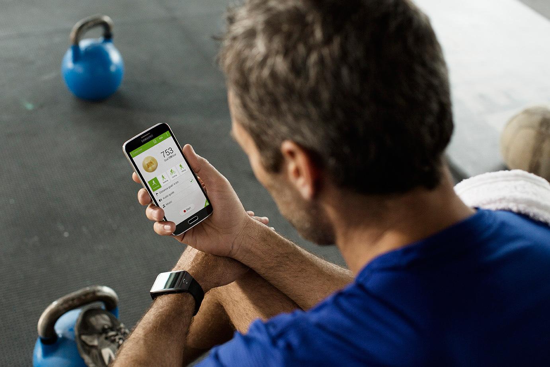 Samsung Galaxy S5 lifestyle gym