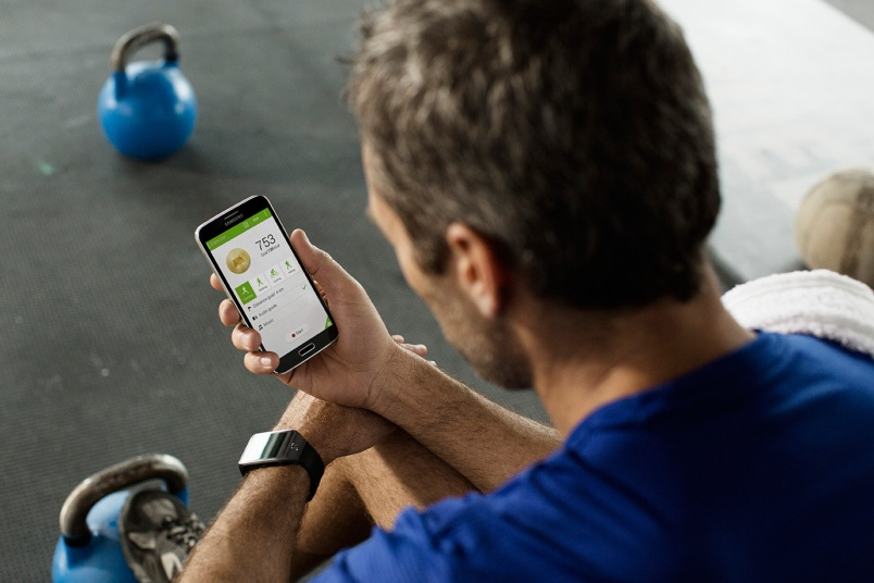 Samsung Galaxy S5 lifestyle gym