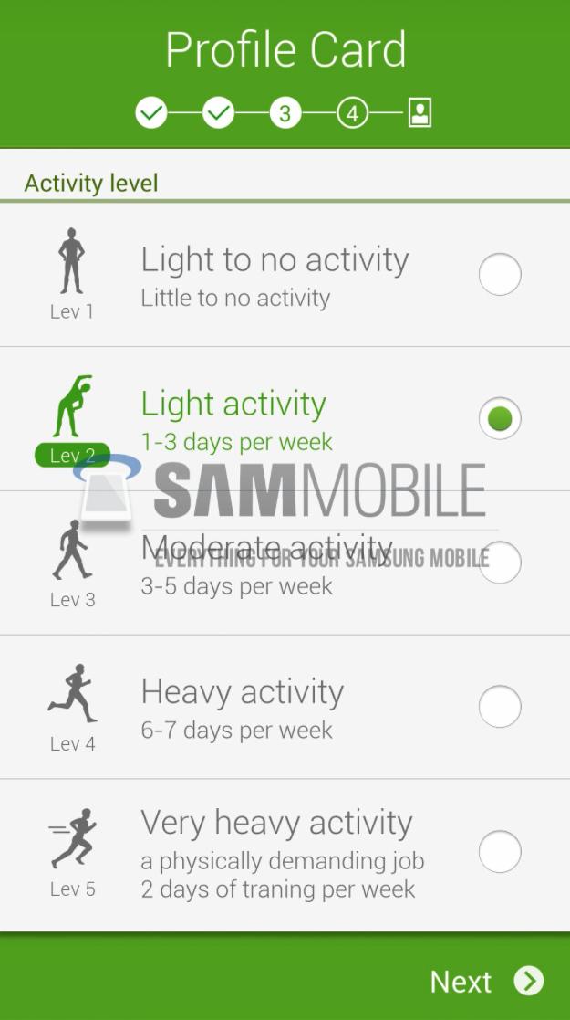 Samsung S Health