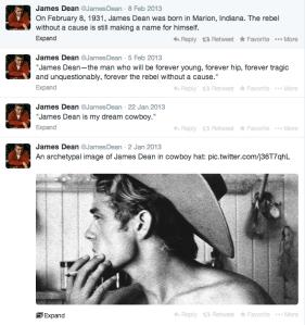 Screen Shot James Dean