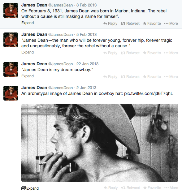 Screen Shot James Dean