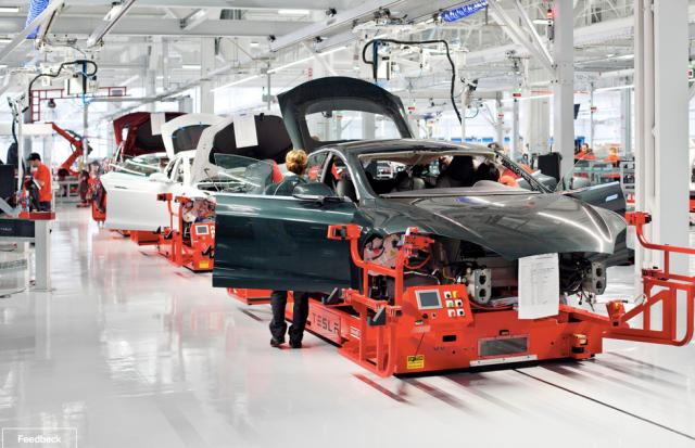Tesla factor floor, image courtesy of Tesla.