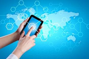 mobile data traffic world