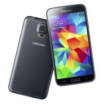 Galaxy S5 in charcoal black