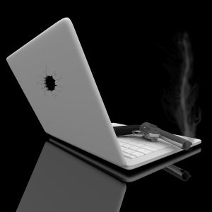 Smoking Gun and Laptop