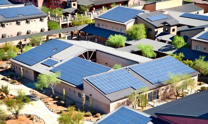 SolarCity panels, image courtesy of SolarCity.