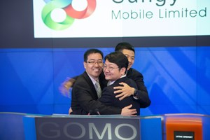 Sungy Mobile opened for trading on NASDAQ Stock Market on November 22, 2013.