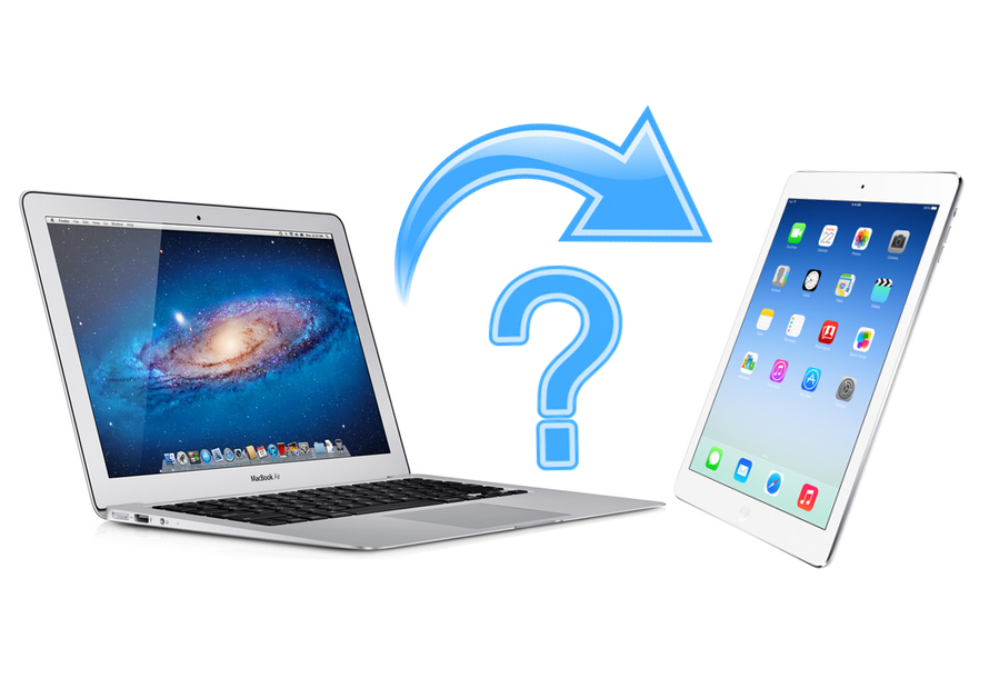 Switching from Computer to iPad