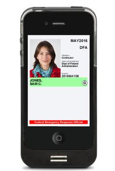 Intercede smartphone ID NFC